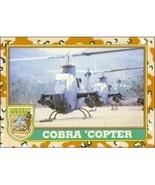 1991 Topps Desert Storm COBRA 'COPTER #16 - $0.49
