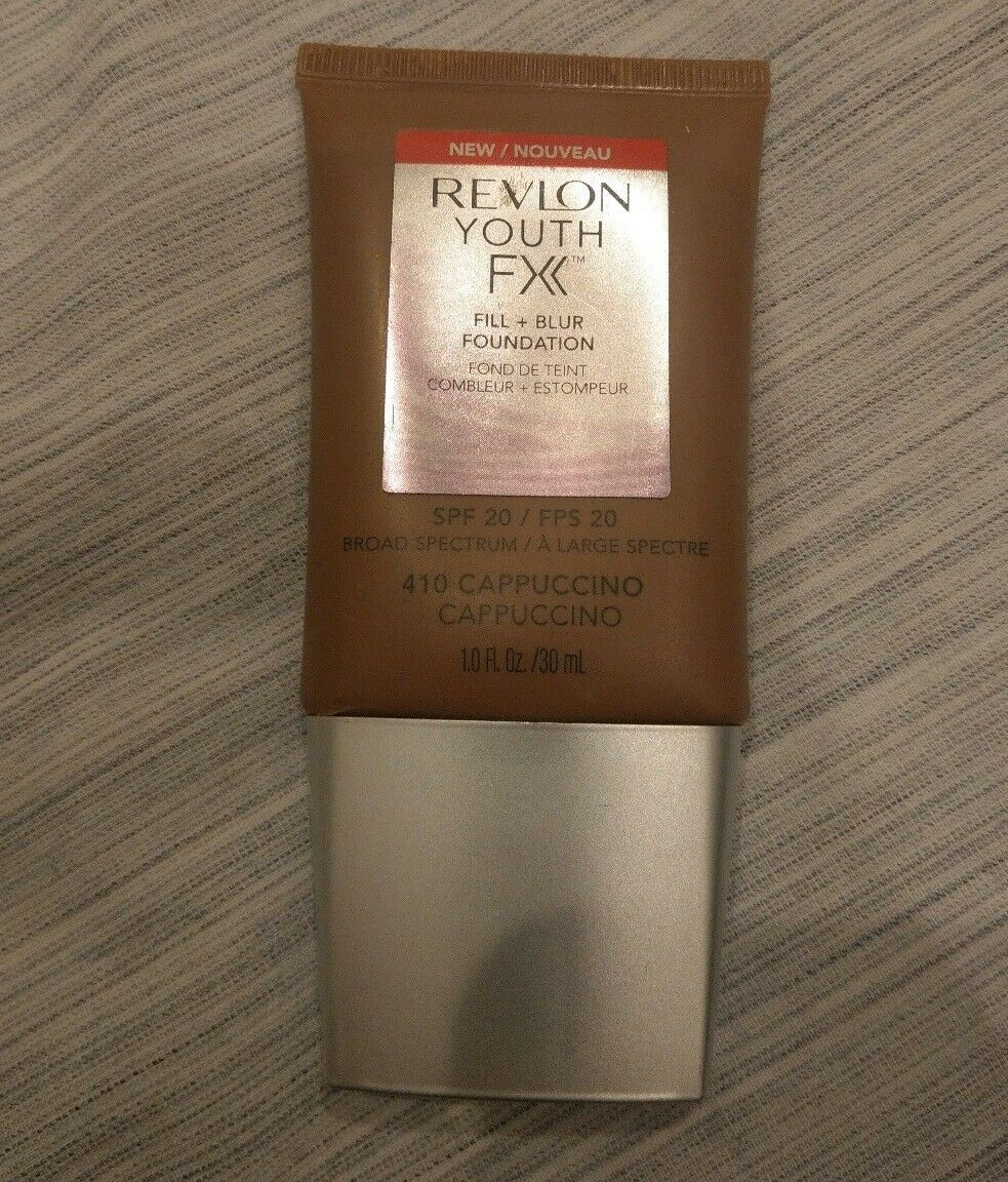 Primary image for Revlon Youth FX Fill + Blur Foundation SPF 20. 410 Cappuccino