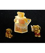 Collectible Teddy Bear Pins, Tacks by Schmid and Gordon Fraser 1984 - $0.00