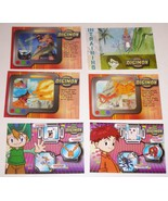 Lot of 6 DIGIMON Digital Monsters Trading Cards 2000 #49, 59, 60, 64, 69... - $9.40