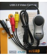 EzCAP USB VIDEO CAPTURE CARD EzCAP116, XP/Vista/Win7/Win8 - HD size vide... - $19.99