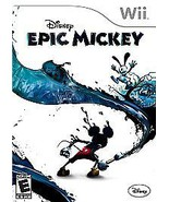 Epic Mickey  (Wii, 2010) Video Game - $15.83