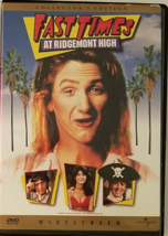 FAST TIMES At Ridgemont High collector's Edition Widescreen DVD, 1982 - $2.95