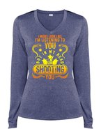 In my Head I'm Shooting You T Shirt, I'm Listening To You T Shirt, Cool ... - $29.99+