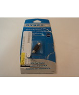 Dynex RCA Plug Coupler 1 Pack DX-AD107 - $4.32