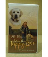 Sterling More Than Puppy Love VHS Movie  * Plas... - $5.42