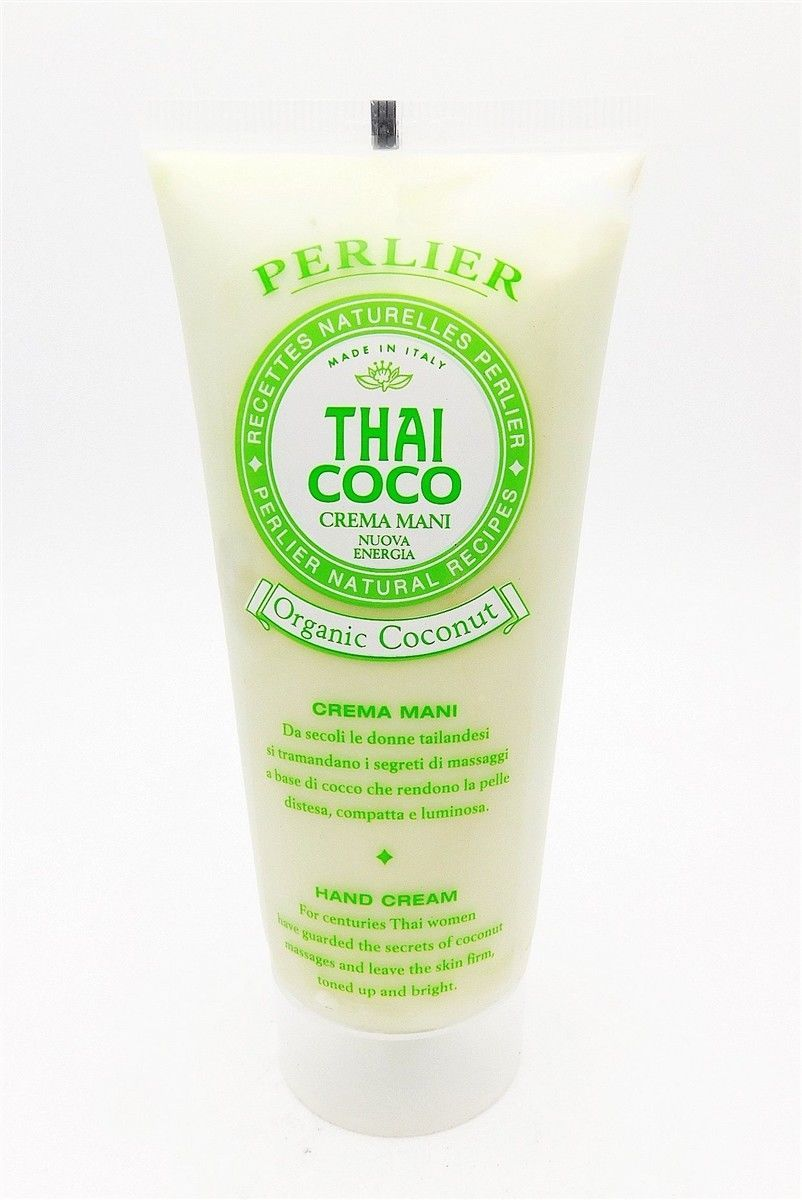 Perlier Thai Coco Organic Coconut Hand Cream 3.3 Fl Oz. New
