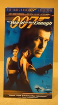 MGM  007 The Wold Is Not Enough VHS Movie  * Pl... - $4.69