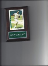 Rickey Henderson Plaque Oakland Athletics A's Baseball Mlb - $0.98