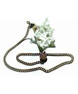 Clear Crystal Quartz Merkaba Star Pendulum Reiki Healing Meditation - £6.86 GBP