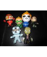 Marvel Funko DJECO DC Comics Lot of 6 Mini-Figures - $9.79