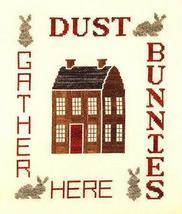 Dust Bunnies home housework cross stitch chart Linda Jeanne Jenkins - $5.40