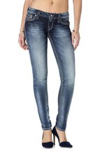 NEW ROCK REVIVAL WOMENS JEANS SAMANTHA S3 DISTRESSED STRAIGHT LEG DENIM RJ8563S3