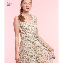 Simplicity American Sewing Guild Misses Wrap Dress6-8-10-12-14 - $16.73