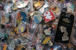Disney World Land Trading Pins Pin Lot of 25 No Doubles Plus Bonus Pin o... - £12.58 GBP