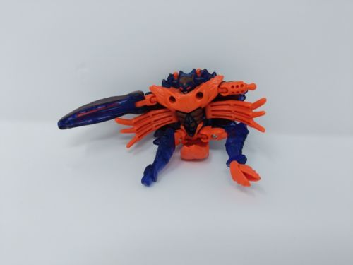 Transformers Beast Wars 1997 Razorclaw Crab Action Figure VTG MISSING PARTS
