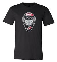 Carolina Hurricanes Goalie Mask front logo Team Shirt jersey shirt - $12.19+