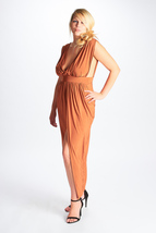 Rimi Wrap Front Maxi Dress - Spice - $207,05 MXN