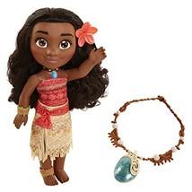 Disney Moana Adventure With Magical Seashell Necklace Doll - $38.60