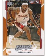 LeBron James Cleveland Cavaliers #28 UD MVP 2008-09 - $10.00