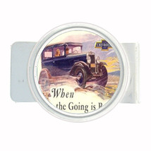 Chevrolet 1920s Vintage Ad Money Clip Round 030 - $11.48