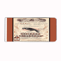 Old Crow Kentucky Whiskey Vintage Ad Money Clip Rectangle 026 - $11.48