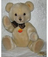 "GENUINE STEIFF BLOND PETSY PLUSH BEAR , 16"" TALL, ORIGINAL TAGS, MODEL 0... - $405.00"