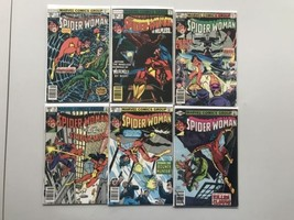 Lot of 12 Spider-Woman (1978-1983 1st Series) from #5-46 FN Fine - $59.40