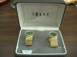 Vintage Swank Cuff Links New in Original Box - $20.00