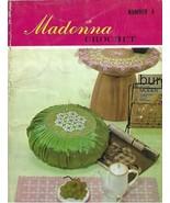 Vintage 1968 Crochet Book-Madonna Crochet Book Number 4-ONDORI Pub.-Japan - $5.86