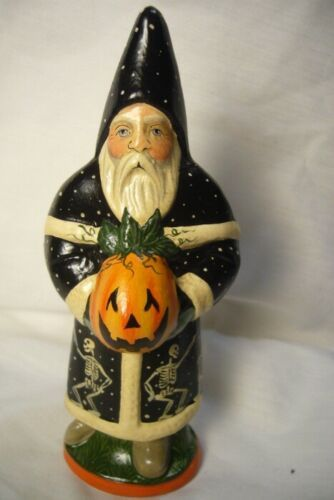 Vaillancourt Folk Art Halloween Santa,