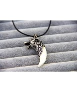 Fashion Jewelry Classic wolf Necklace Fang Necklace Bruce Lee Necklace T... - $8.39