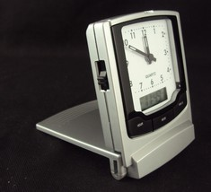 Travel Alarm Clock CL-174 ~ w/Dual Display (Analog/Digital) ~ FREE SHIPP... - $14.65