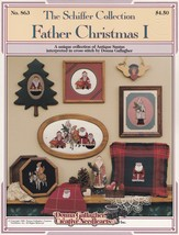 Father Christmas I, The Schiffer Collection Cross Stitch Pattern Booklet... - $4.95