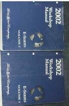 2002 Ford Econoline E-Series Van Service Shop Repair Manual Set OEM 02 F... - $108.90
