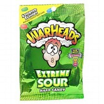 Warheads Extreme Sour Hard Candy Assorted Flavors 3.25oz Bag - $6.92