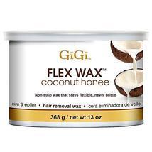 GiGi Coconut Honee Flex Wax - Non-Strip Hair Removal Wax, 13 oz image 11