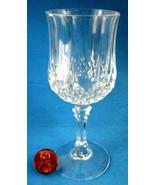 Cut Crystal Lead Crystal Liqueur Cordial Glass Longchamp France Pedestal... - $8.00