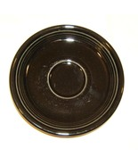 Homer Laughlin Saucer Black 5 7/8-in Fiestaware... - $9.49
