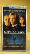 Universal Meet Joe Black VHS Movie  * Plastic * - $6.64