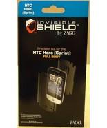 Zagg Invisible Shield HTC Hero Sprint Full Body... - $11.32