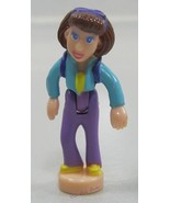 2000 Polly Pocket Doll Figure Cell Phone - Lila - $5.77