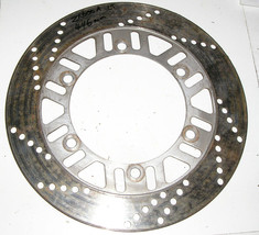 Kawasaki ZX600A 85-87 left front brake rotor - $22.97
