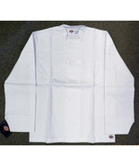 Dickies Chef Jacket 4XL CW070305 White Button Front Uniform Coat New - $19.57