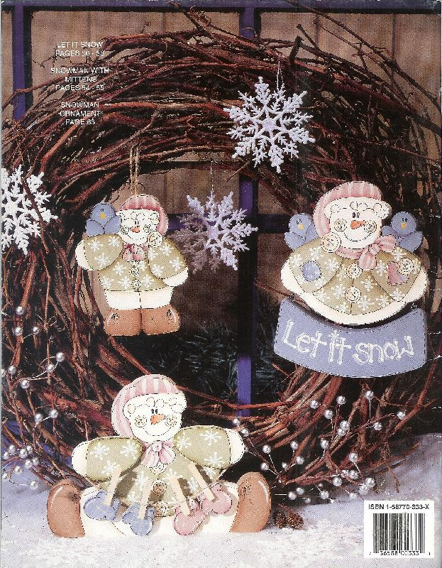 Christmas Decor Rag Baskets Dolls Wooden Ornaments Special Occasions 3 books