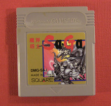 Saga / The Final Fantasy Legend (Nintendo Game Boy GB, 1989) Japan Import - $6.77