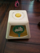 Fisher Price 1978 TURN & LEARN SPINNING BUSY BOX CUBE Baby VINTAGE Toy - $15.84