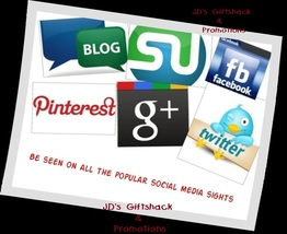 I'll promote 12 items for 30 days on Social Media Outlets - $36.00