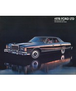 1978 Ford LTD sales brochure catalog US 78 Landau Country Squire - $8.00