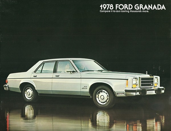 Primary image for 1978 Ford GRANADA sales brochure catalog US 78 Ghia ESS